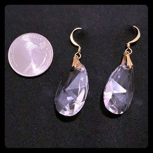NWT Australian crystal dangle earrings
